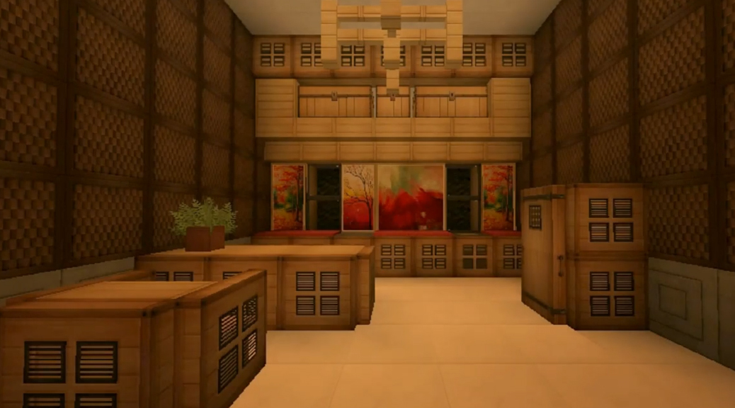 Minecraft ideas kitchens and dining rooms jades world for Dining room designs minecraft