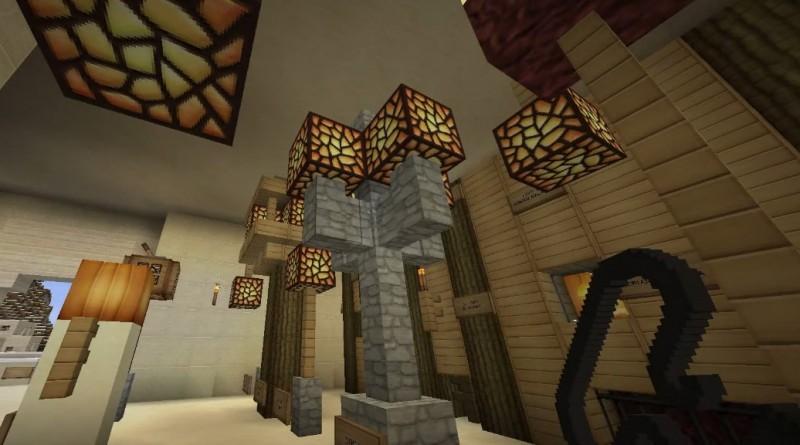 Minecraft indoor and outdoor lighting showcase jades world alunnyville for Minecraft exterior wall design